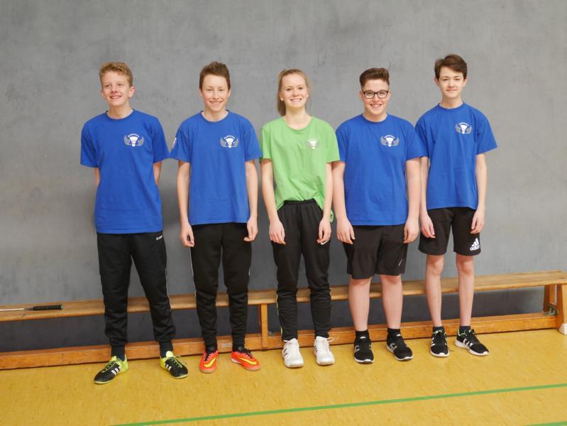 Die Badminton U15 ist Sensationell im ersten Anlauf