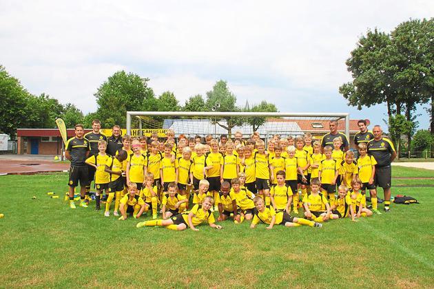 BVB-Fußballschule 2016 beim TuS Laer