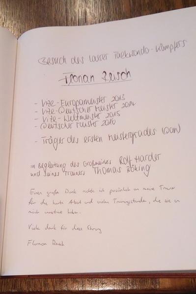 Goldenes Buch der Gemeinde Laer