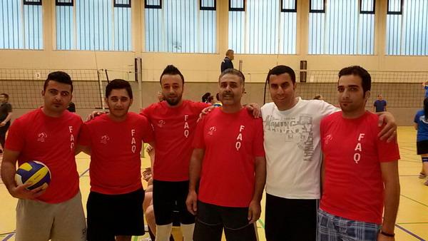 Volleyballturnier 2016 des TuS Laer 08