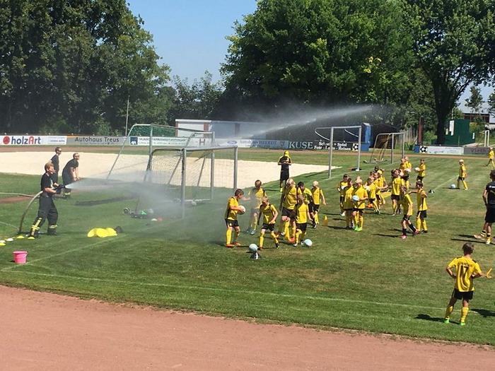 TuS Laer BVB Fußballcamp 2016