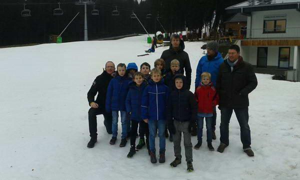 F1 & E2 Jugend genießen Winterberg