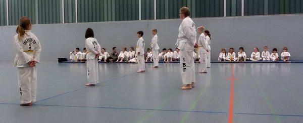 Taekwondo Schülerprüfung am 16. Dez 2016