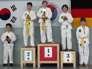 tus laer taekwondo vereinsmeisterschaft Disziplin Kampf Pool