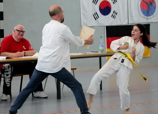 Taekwondo Schülerprüfung am 07. Juli 2017
