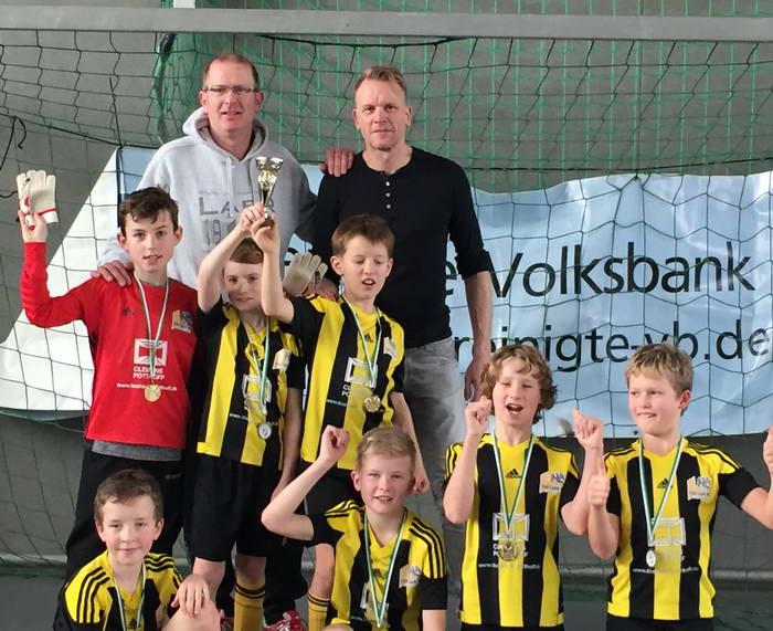 E1 feiert Turniersieg im Kreis Warendorf