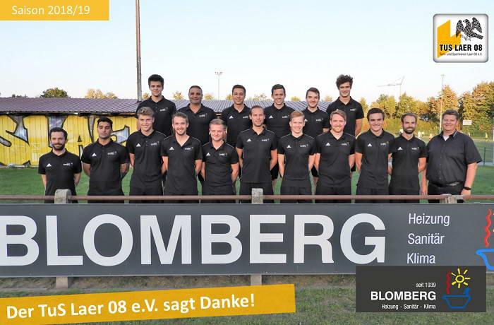 Blomberg sponsert Poloshirts für die 1.Mannschaft