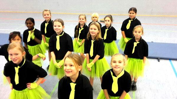 Teeny TUS Minis: die neue Tanz-Gruppe vom TuS Laer 08