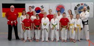 taekwondo kup prüfung