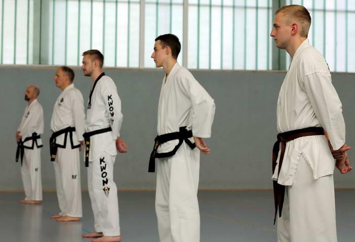 tus laer taekwondo dan pruefung