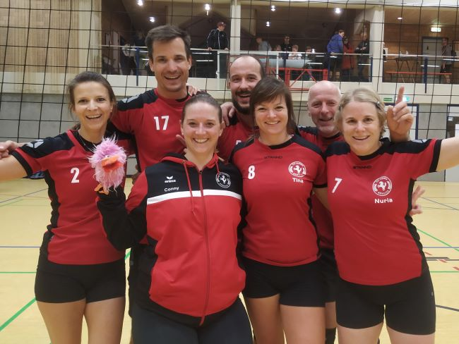 Volleyballturnier des TuS Laer 08 am 09.11.2019