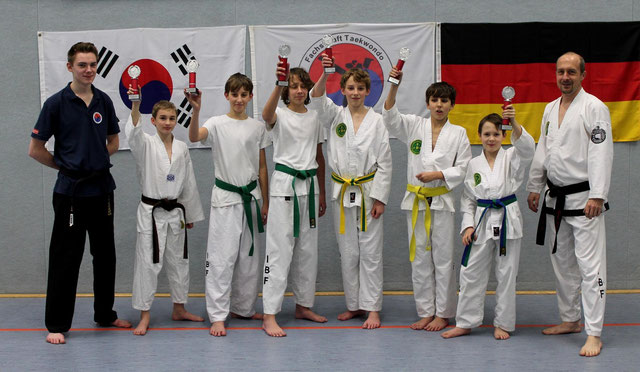 Taekwon Do Vereinsmeisterschaft Saison
