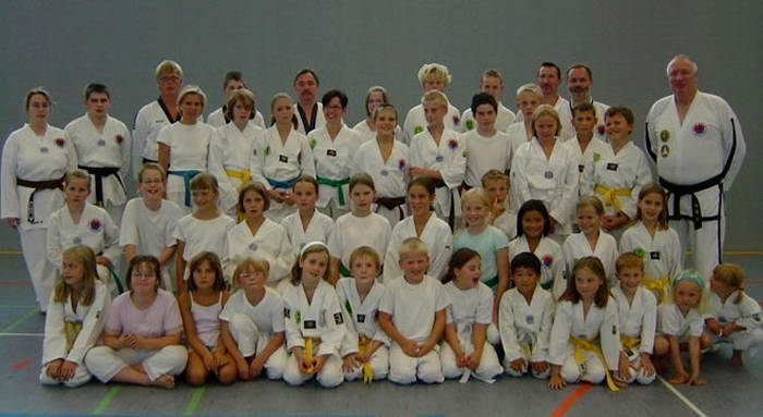 tus laer Fachschaft taekwondow nach der Kup Prüfung