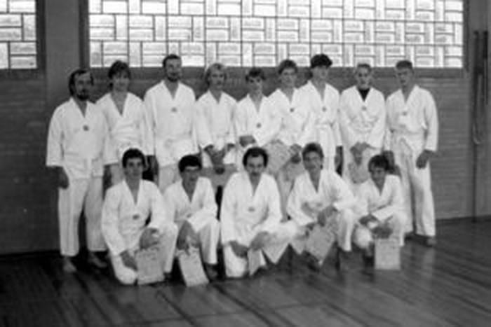 tus laer fachschaft taekwondo Die Fachschaft nach der ersten Kup Prüfung im Herbst