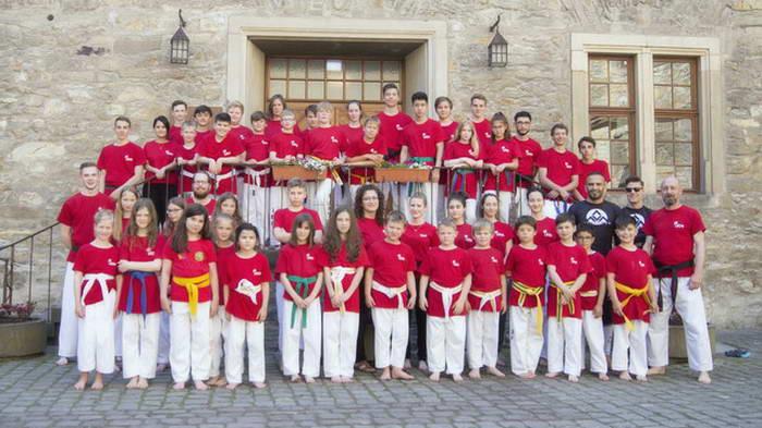 tus laer fachschaft taekwondo Trainingslager auf der Wewelsburg Gäste Ismail Hakan Geyik und Kai Hauprich