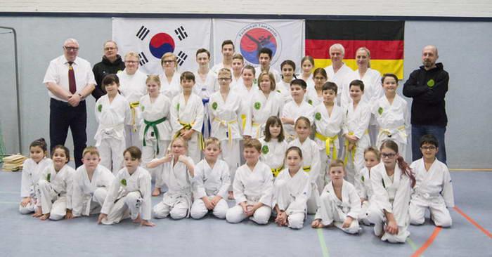 tus laer fachschaft taekwondo kup prüfung
