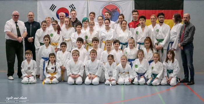 tus laer fachschaft taekwondo kup prüfung dez