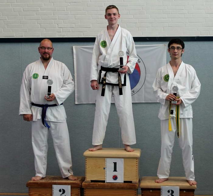 tus laer taekwondo vereinsmeisterschaft Florian Reisch Uwe Minker Shahruh Nuriddinov