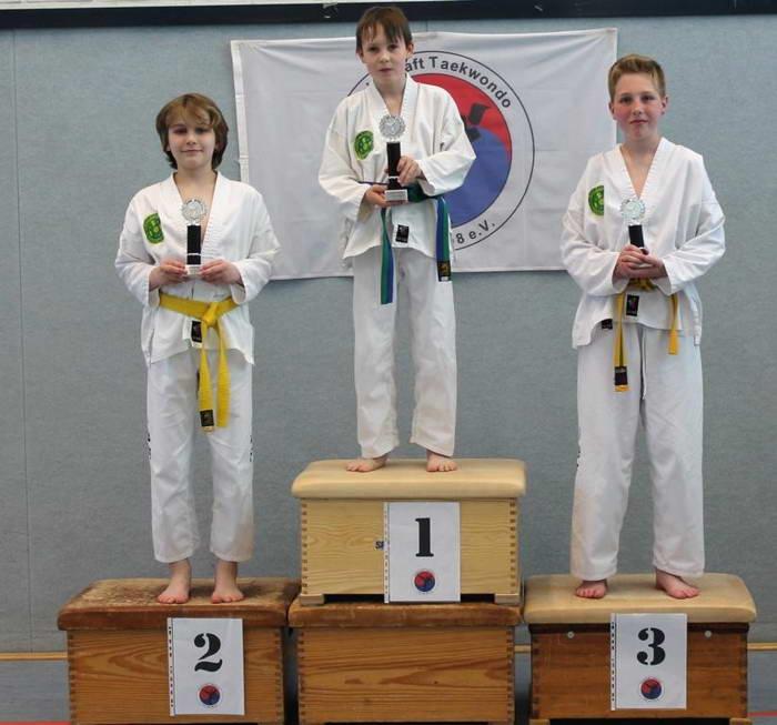 tus laer taekwondo vereinsmeisterschaft Joshua Elias Böking Jaro D C Winkelmann Paul Nacke