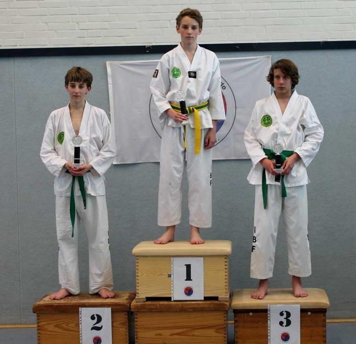 tus laer taekwondo vereinsmeisterschaft Nico Blömer Maik Blömer Tom Lülff