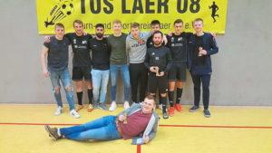 Fussball Die Erste gewinnt das vereinseigene Turnier des TuS Laer