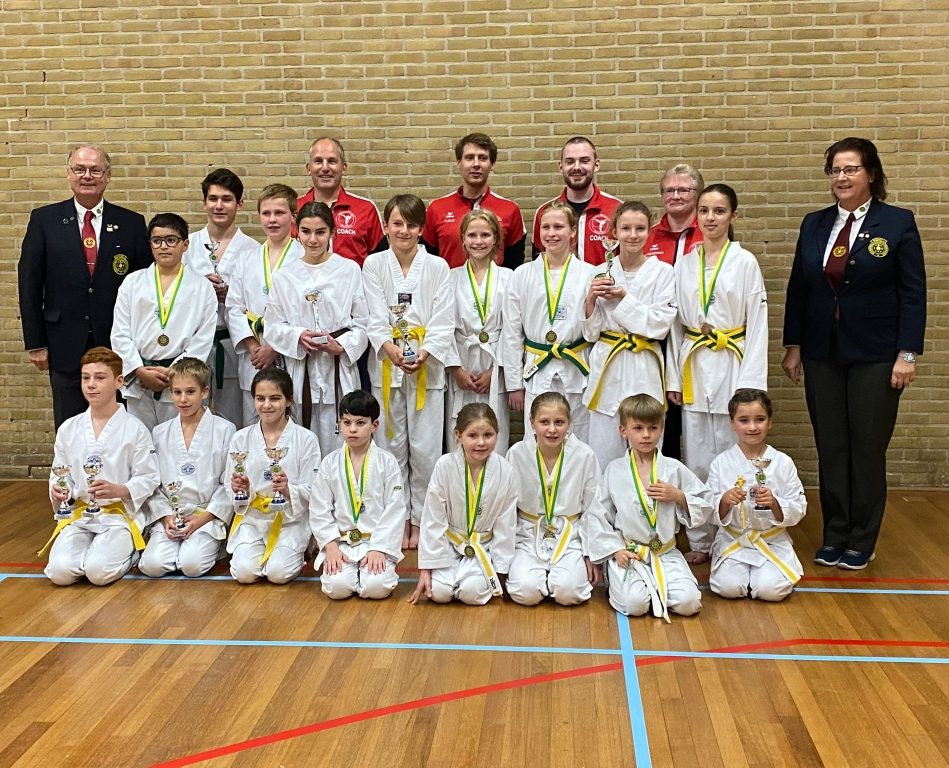 Erfolge in Haaksbergen – Erstes TKD-Turnier nach Corona